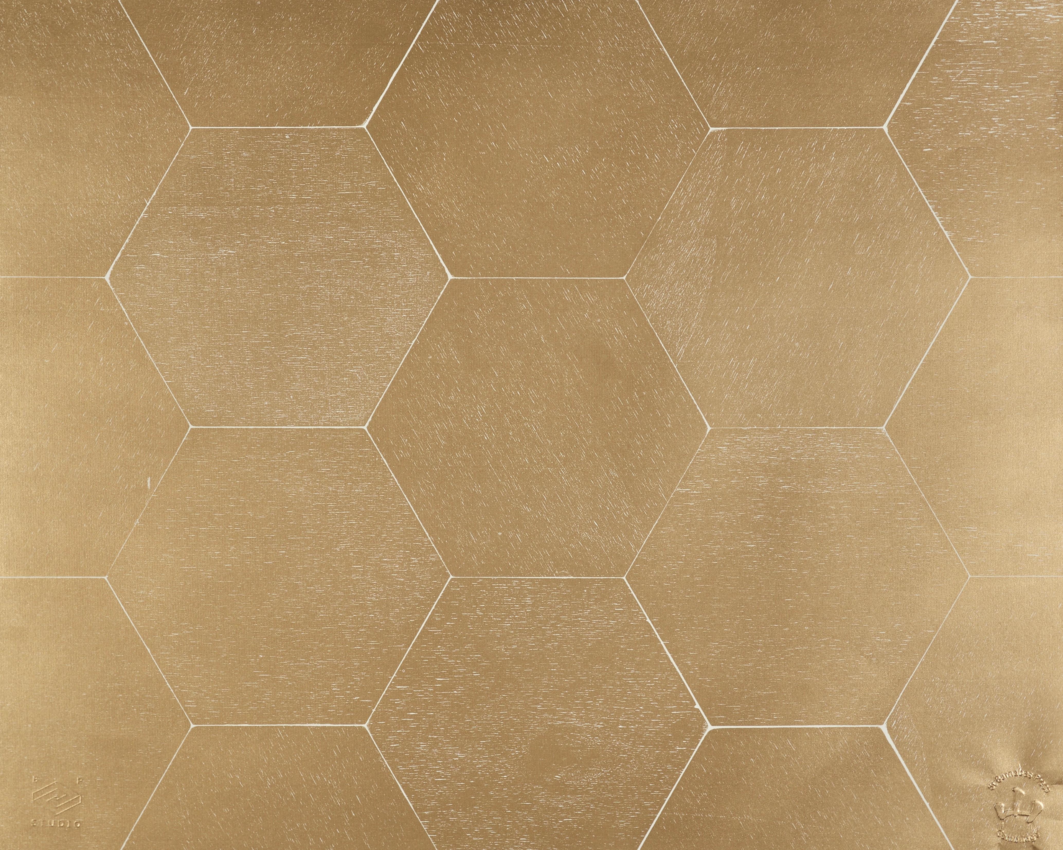 Gold Hexagons